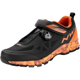 Northwave Corsair Schuhe Herren schwarz/orange